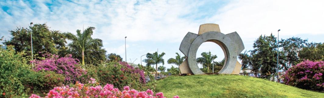 Porte des Mondes - Boulevard Sud - Saint-Denis de La Réunion